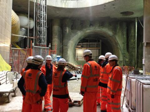 ESD MPhil Students visit to Crossrail March 16 v 2