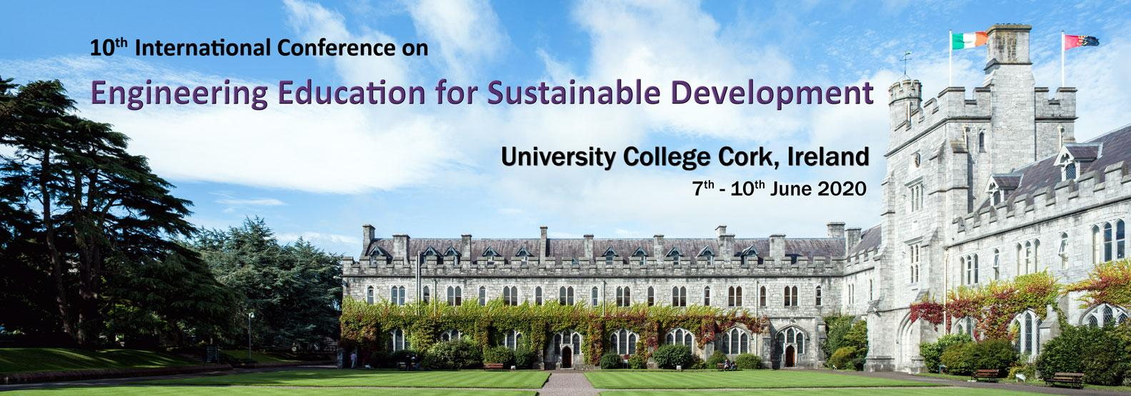 Engineering Education for Sustainable Development Conference 2020