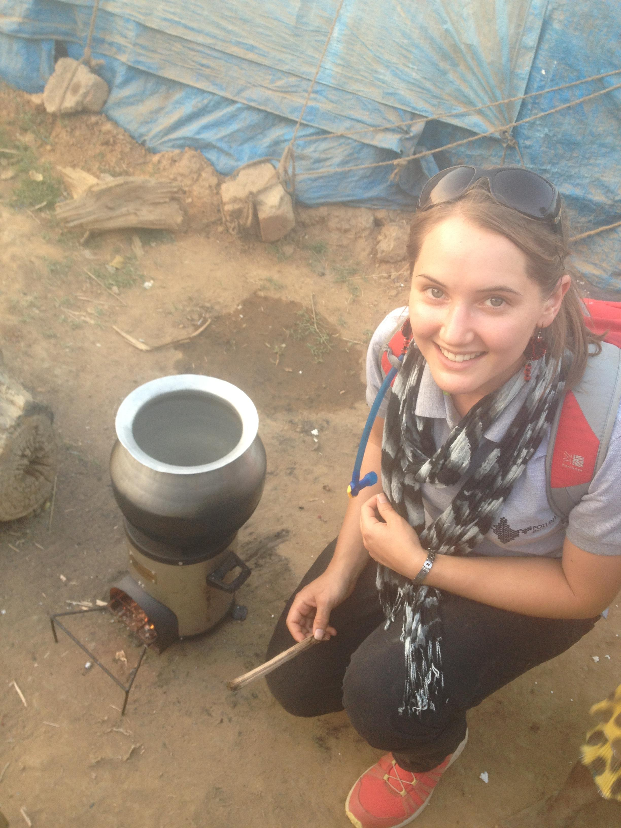 Arthur Shercliff Travel Scholarship 2015 won by Samantha Passmore