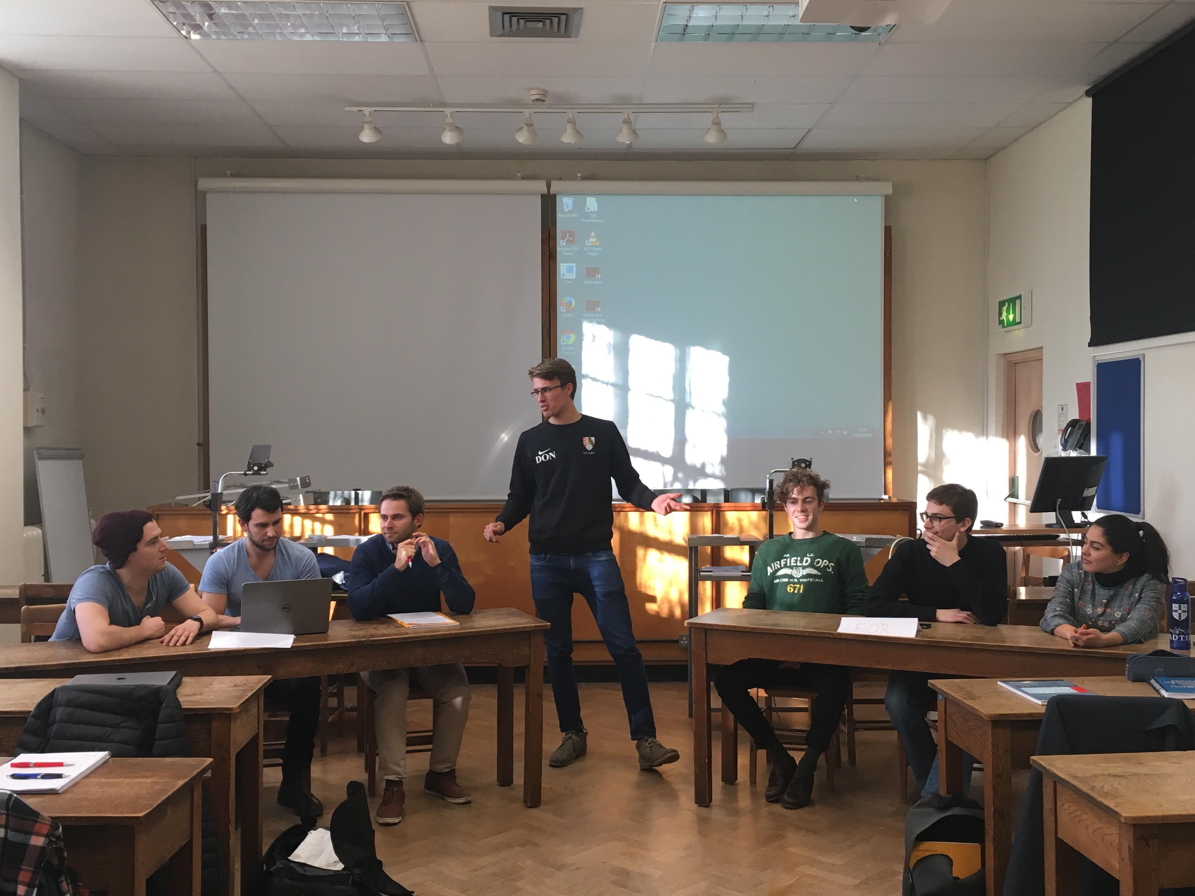 ESD MPhil students debate on Dirty Industries