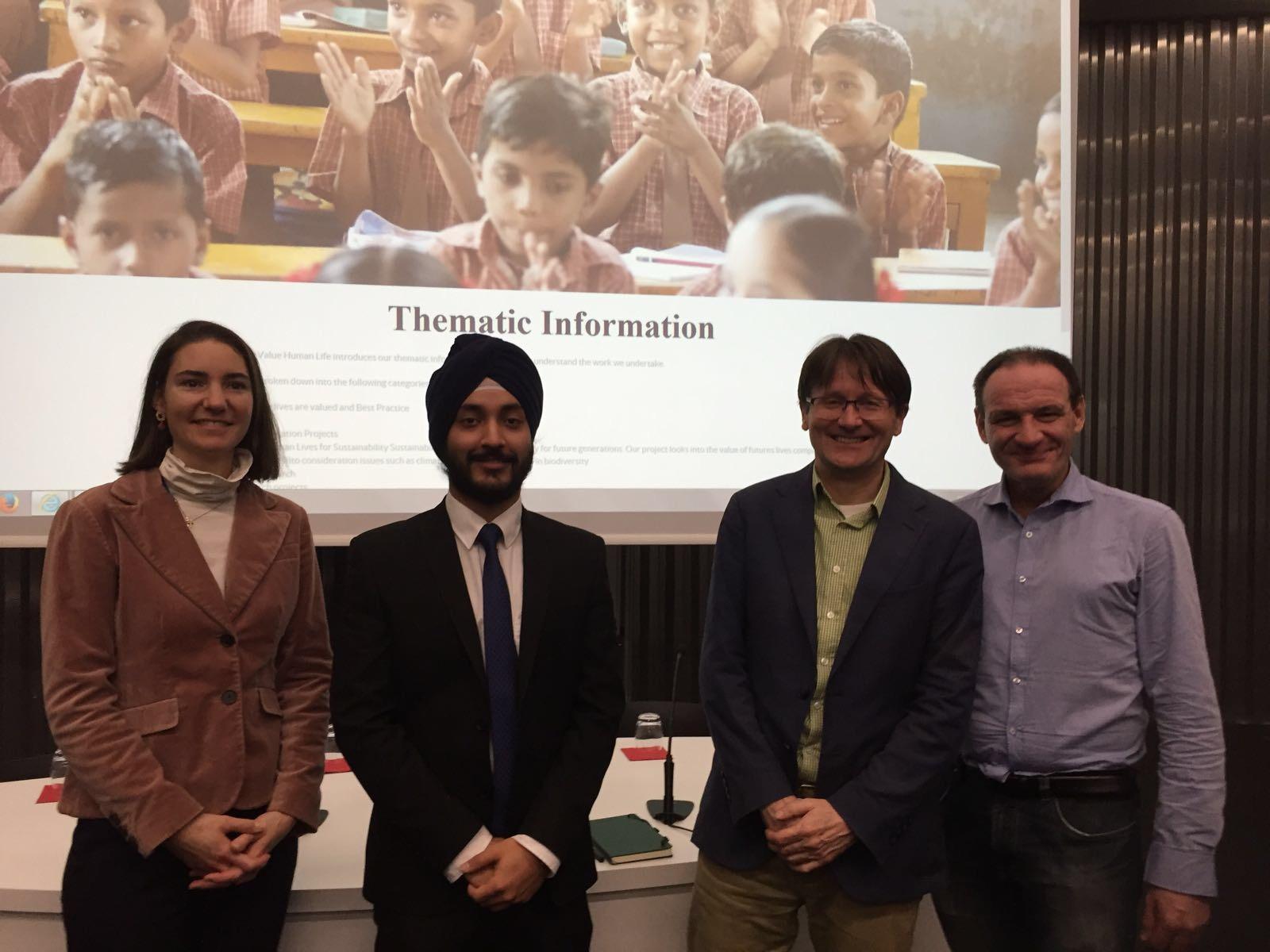 Jaspreet Singh (ESD 14-15) Initiative to Value Human Life