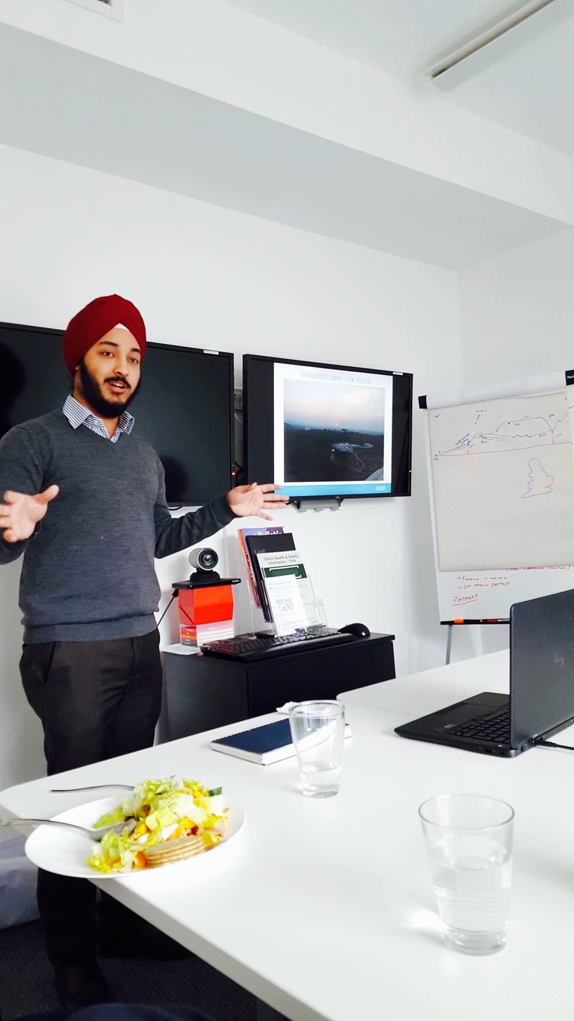 Jaspreet Singh, ESD MPhil student (14-15), wins Arup competition to support Agastya's Raspberry Pi project.